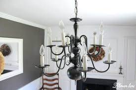 paint a chandelier an easy chandelier makeover with spray paint painting brass chandelier oil rubbed bronze