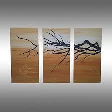 Tableau zen art déco. Peinture