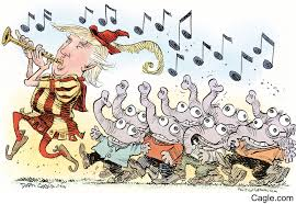 Image result for cartoon trump Immigration
