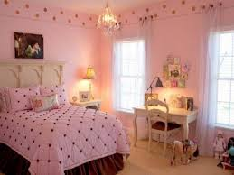 Small Pink Bedroom Bedroom Small Modern Teenage Girls Design In Pink Color Theme With