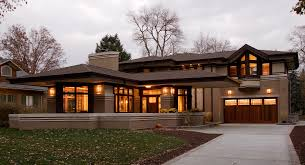 ... Best Architectural Home Styles And Frank Lloyd Wright Style Of Home And  Studio ...