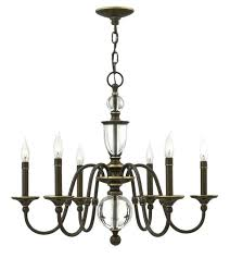 chandeliers hinkley lighting chandelier chandeliers light oiled bronze six finish harlow 3
