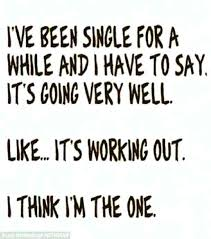 Funny Being Single Quotes Custom Why I Love Being Single Quotes With Quotes About Being Single Being