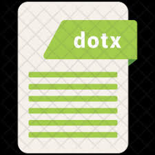 dotx file extension premium dotx file icon download in svg png eps ai ico icns