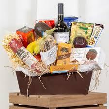 handcrafted gourmet basket