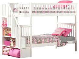 white bunk bed with stairs. Unique Bed White Bunk Beds Image Of Twin With Stairs Futon Bed Walmart Inside White Bunk Bed With Stairs A