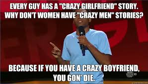 Why there aren't as many crazy ex-boyfriend memes : funny via Relatably.com