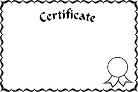 white certificate frame certificate frame public domain vectors