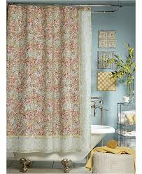 vintage shower curtain. Jessica Simpson Marina Floral-Print Shower Curtain Vintage S