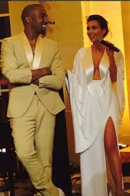 kim kardashian and kanye west pre wedding party