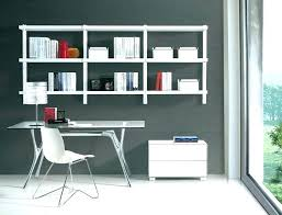 home office wall. Office Shelves Design Wall Mounted Amazing Shelving Home In G