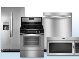 Kitchen Appliances Package Deals Kitchen 4 Piece Stainless Steel Kitchen Appliance Package 00023