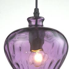 purple glass pendant light modern glass pendant light fixtures purple wine shade lamp bar restaurant living