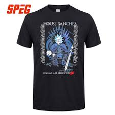 Rick and Morty <b>Game</b> of Thrones T Shirt House Sanchez <b>Funny</b> Tee ...