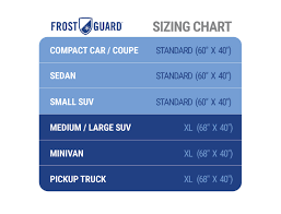 Frost Guard Windshield Cover Size Chart Details About Nfl Frostguard Premium Winter Windshield Cover For Snow Frost And Ice