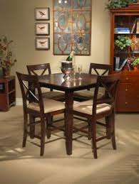 crosswinds crosswinds square counter height dining table dining room table sets bedroom furniture curio cabinets and solid wood furniture model home