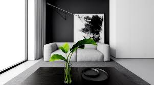 Black Sofa Deck Lamp Black Curtain Hardwood Floor Black Modern - Black couches living rooms