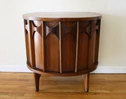 vintage entry table. Vintage Broyhill Furniture Kent Coffey Perspecta Demilune Table 1 Best Entry