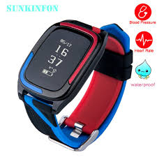 Track My Blood Pressure Smart Wristband Watch Blood Pressure Fitness Tracker Heart Rate
