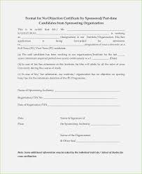 letter of non objection non objection certificate for job 9 images henfa templates