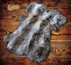 gray faux fur rug new hides skins faux fur rugs rugs carpets