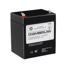 chamberlain garage door opener battery
