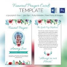 Funeral Prayer Cards 5 Funeral Prayer Cards Word Psd Format Download Free Premium