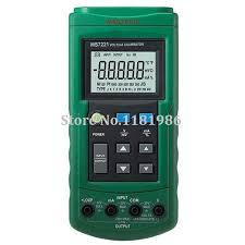 <b>Mastech MS7221 Volt/mA Source</b> Voltage Current Calibrator Meter ...