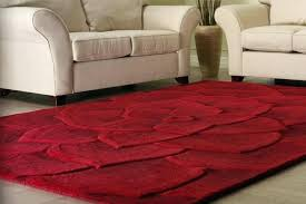 contemporary rugs 8x10 beautiful red fl contemporary area rug all about rugs in modern within decorations