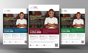 Donation Flyer Template Charity Donation Flyer Template Flyer Templates Creative Market 2