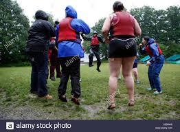 Wellsprings Weightloss Camp, Lake District, UK Stock Photo: 37742468 ...