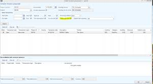 greyed out invoice option on project s orders in dynamics ax greyed out invoice option on project s orders in dynamics ax