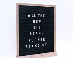 Letter board | Etsy