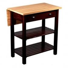 Sandy Creek Kitchen Island With Drop Leaf