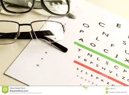 Eyes Test Stock Photo Image Of Glass Chart Health 51492116