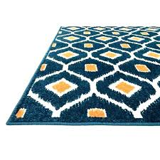 blue and orange rug turquoise astonishing for fantastic burnt area
