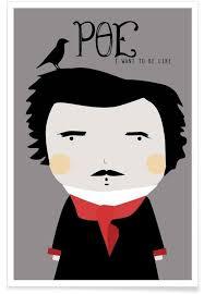 Little Poe Poster