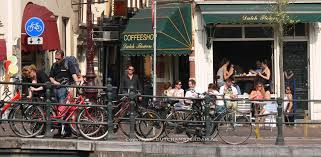coffe shop map amsterdam