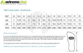 Northwave Size Chart Northwave Shoes Storm White