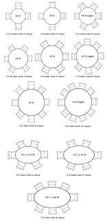 what size round table seats 8 round table size for 6 what size round table seats