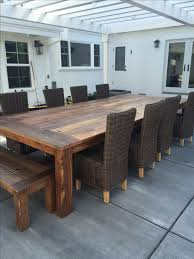 Handmade Reclaimed Wood Farm Table Outdoor Indoor by Urban