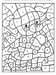 Kleurplaat Nummers Kleuren Lapsi