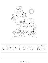 Jesus Loves Me Coloring Pages Printables Zatushokinfo
