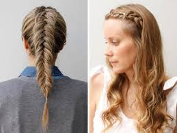Braids Hairstyle Pics this messy mermaid braid is your new musttry hairstyle more 6783 by stevesalt.us