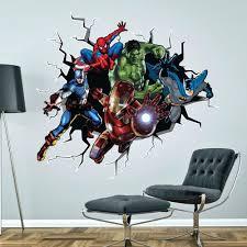 marvel heroes wall photo of superhero wall decals