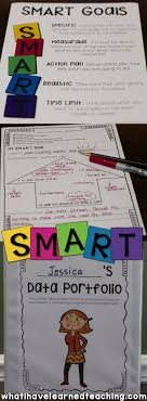best ideas about goal setting activities high goal setting data portfolios for first sixth grades