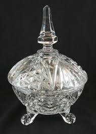 footed pressed glass compote with lid b22 10a compote jpg