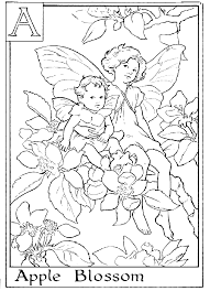 Small Picture Flower Fairies Coloring Pages