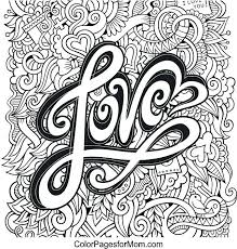 Beautiful I Love You Coloring Books For Love Quotes Coloring Pages