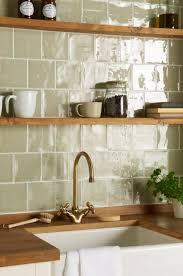 handmade tile splashback